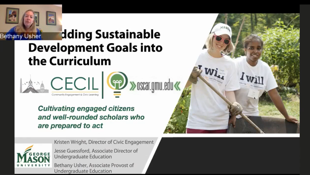 Embedding Sustainable Development Goals into the Curriculum