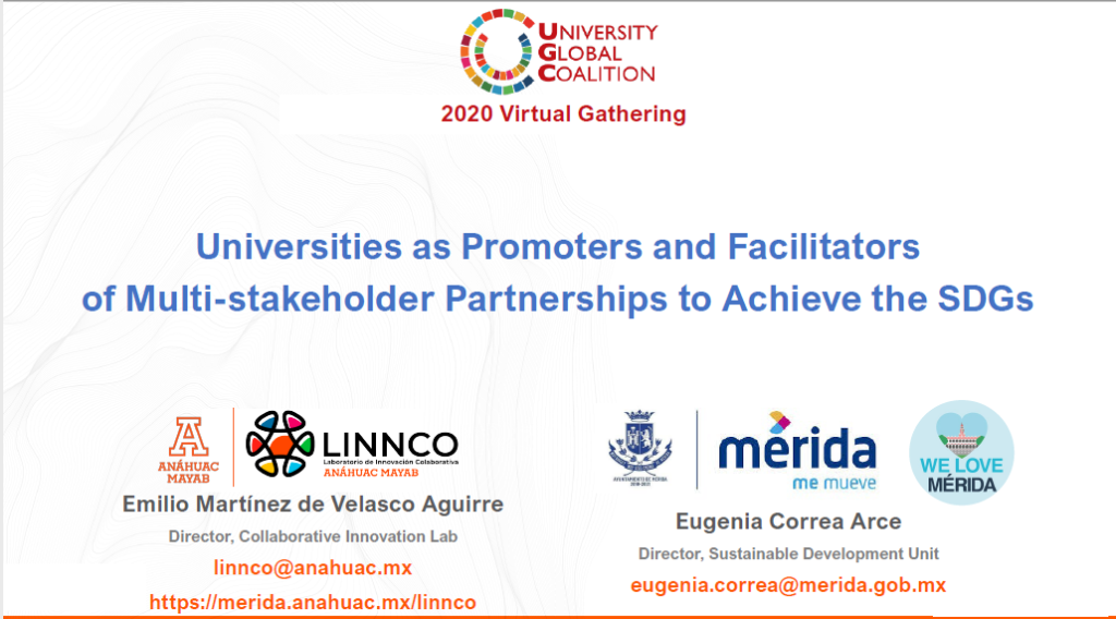 Universities as Promoters and Facilitators of Multi-stakeholder Partnerships to Achieve the SDGs