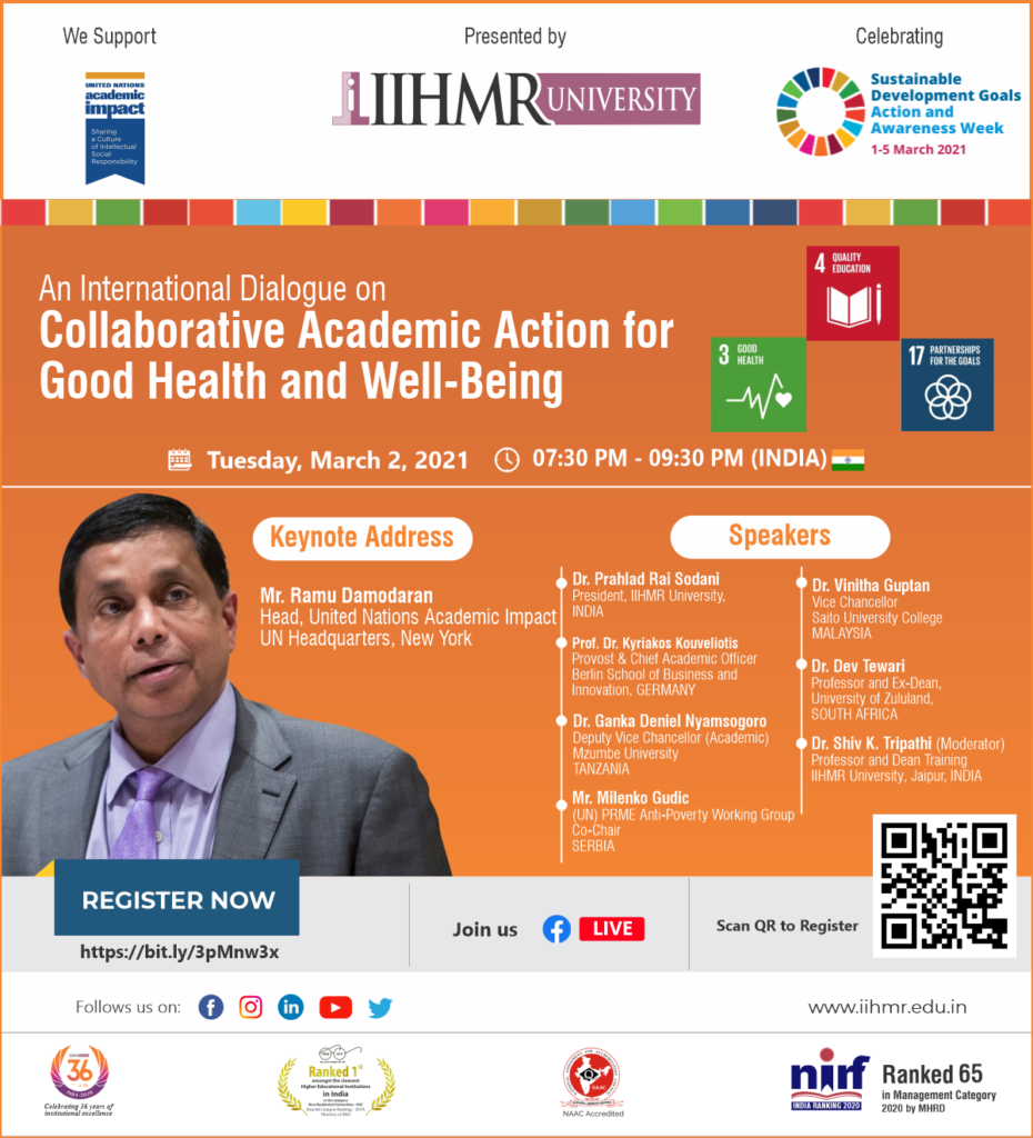 Collaborative Academic Action for Good Health and Well-Being