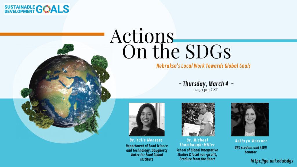 Action on the SDGs: Nebraska's Local Work towards Global Goals