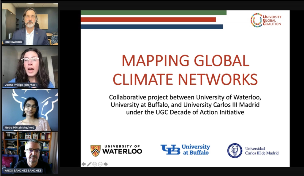 Mapping International Higher-Ed Climate Change Networks: Present Activities and Future Prospects